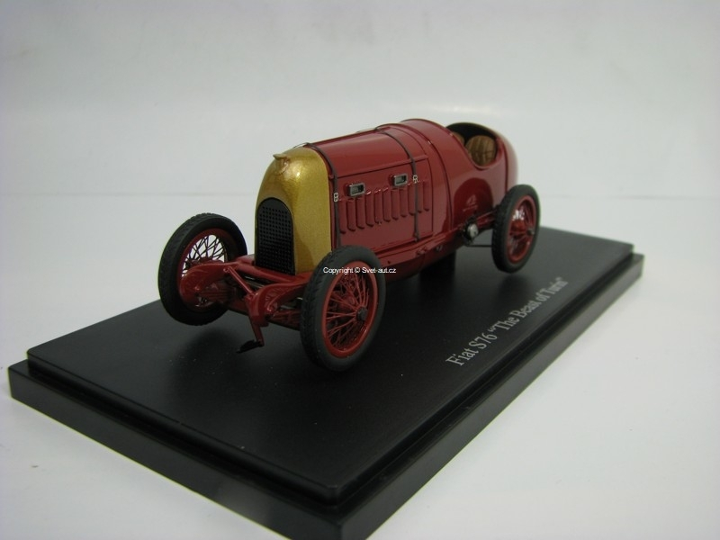 Fiat S76 The Beast of Turin 1911 Limitovaný model 1:43 Autocult 01005